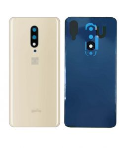 For Oneplus 7 Pro Battery Cover with Camera Glass Replacement - Gold