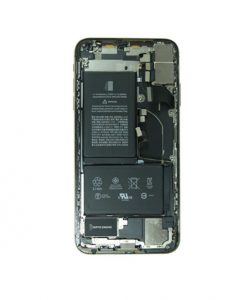 For iPhone XS Max Back Housing with Small Parts Battery Back Camera Replacement - Gold