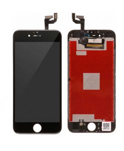 LCD Display and Touch Screen Digitizer Assembly With Frame For iPhone 6S - Black (Incell)