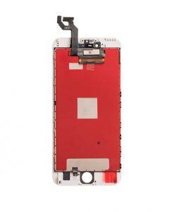 LCD Display and Touch Screen Digitizer Assembly With Frame For iPhone 6S Plus - White (Incell)