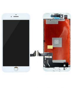 LCD Display and Touch Screen Digitizer Assembly With Frame For iPhone 7 - White (Incell)