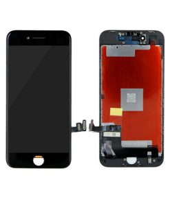 LCD Display and Touch Screen Digitizer Assembly With Frame For iPhone 8 - Black (Incell)