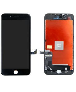 LCD Display and Touch Screen Digitizer Assembly With Frame For iPhone 8 Plus - Black (Incell)