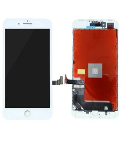 LCD Display and Touch Screen Digitizer Assembly With Frame For iPhone 8 Plus - White (Incell)