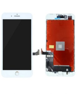 LCD Display and Touch Screen Digitizer Assembly With Frame For iPhone 8 - White (Incell)