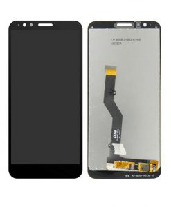 LCD Screen Replacement For Moto E6 - Black