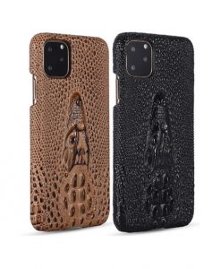 First layer cowhide 3D faucet back case for iPhone 11Pro 11Pro Max