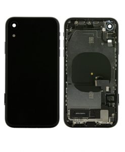 For iPhone XR Rear Housing Full Assembly Replacement - Black
