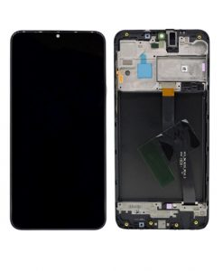 LCD Screen and Digitizer Assembly with Frame For Samsung Galaxy A10(2019) A105F - Black