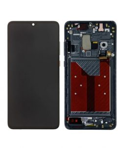OEM Screen with Frame Replacement For Huawei Mate 20 - Black