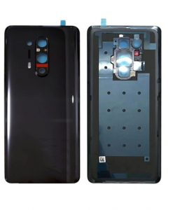 OEM Battery Cover with Camera Glass for Oneplus 8 Pro - Black