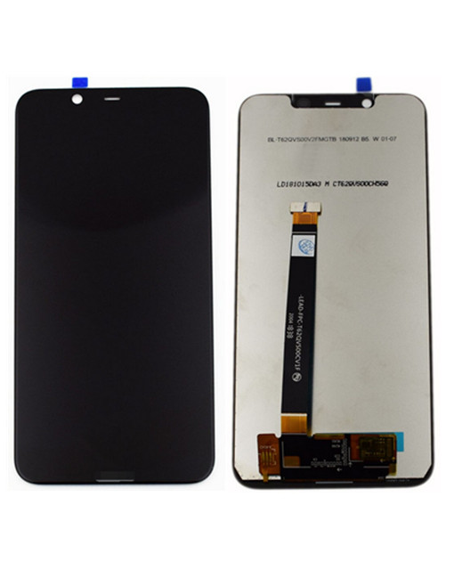 OEM Screen Replacement For Nokia 8.1 - Black