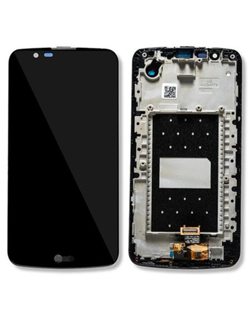 LCD Screen Digitizer Assembly Replacement with Frame For LG K10 - Black