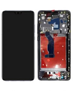 OEM Screen Replacement with Frame For Huawei Mate 30 - Black