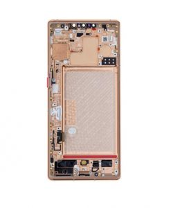 OEM Screen Replacement with Frame For Huawei Mate 30 Pro - Orange