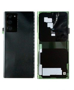 OEM Battery Cover Replacement with Camera Lens For Samsung Galaxy Note 20 Ultra - Black