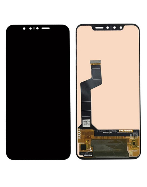 OEM Screen Replacement For LG G8s Thinq - Black