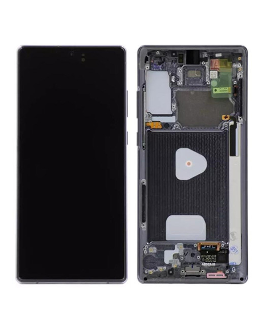 OEM Screen Replacement with Frame For Samsung Galaxy Note 20 - Gray