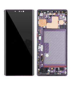 OEM Screen Replacement with Frame For Huawei Mate 30 Pro - Purple