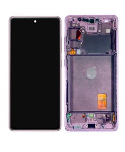OEM Screen Replacement with Frame For Samsung Galaxy S20 FE - Purple