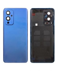 OEM Back Cover with Camera Glass Replacement For OnePlus 9 - Blue